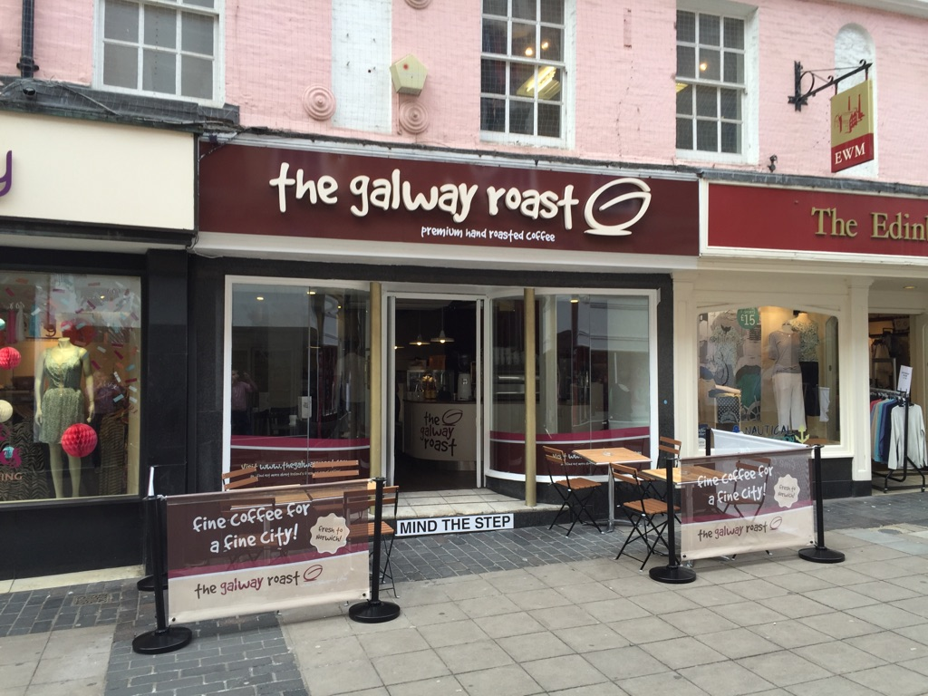 Change of Use of Listed Building in Norwich City to Coffee Shop