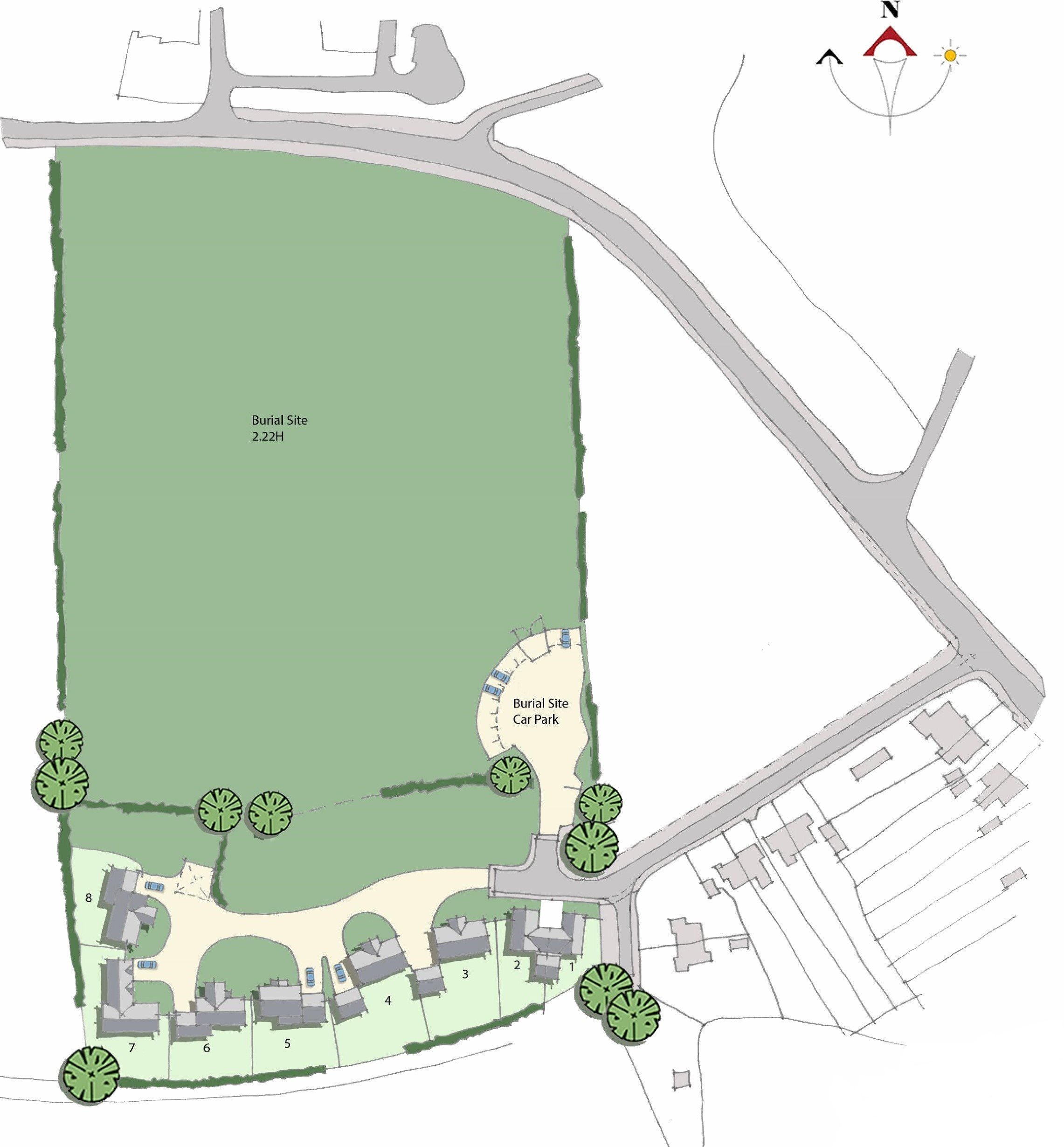 New Major Burial Site and Housing Scheme approved