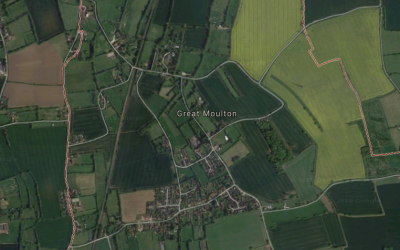 Self Build Project approved in South Norfolk