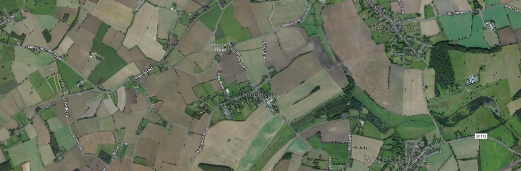 Application Success for the change of use of Agricultural land to Airfield in the District of Mid Suffolk