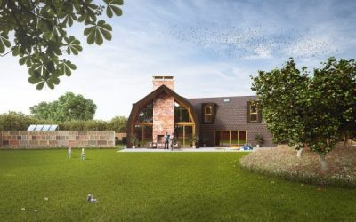 Self build project, with net zero credentials