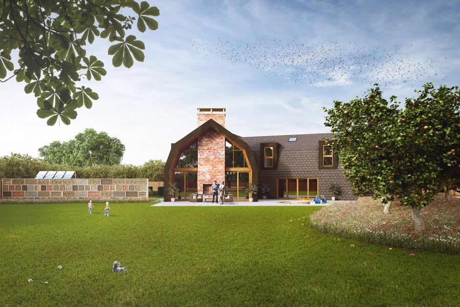 Self-Build Zero Carbon Family Home in Spalding, Lincolnshire