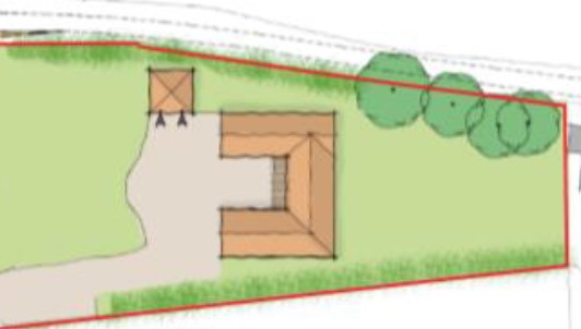 Mid Norfolk.  Rural self build project – planning approved.