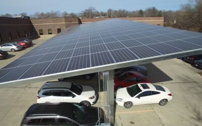 Renewable Energy.  Solar Car Ports. Planning Approved.
